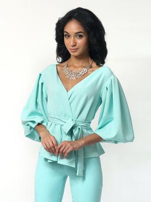 Блуза бирюзового цвета | 5621399