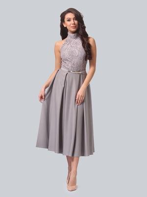 Платье серое | 5620912