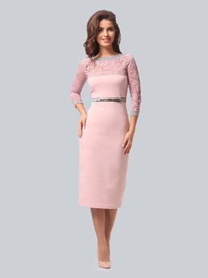 Платье цвета пудры | 5620919