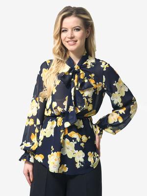 Блуза в цветочный принт | 5620970