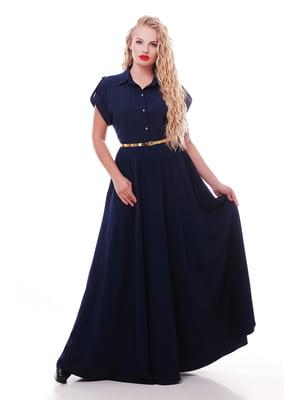 Платье темно-синее | 5108913