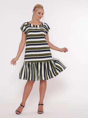 Платье в полоску | 5108944