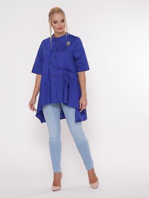 Блуза цвета электрик | 5108996