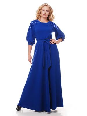 Платье цвета электрик | 5109010