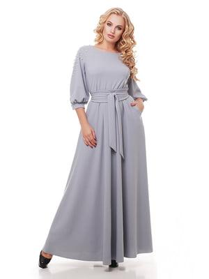 Платье светло-серое | 5109011