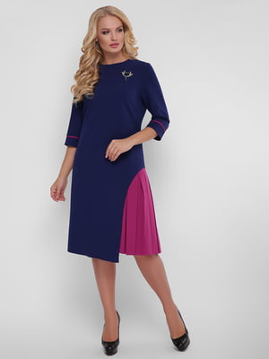 Сукня синьо-рожева | 5109083