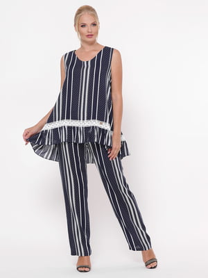 Комплект: блуза и брюки   5124246