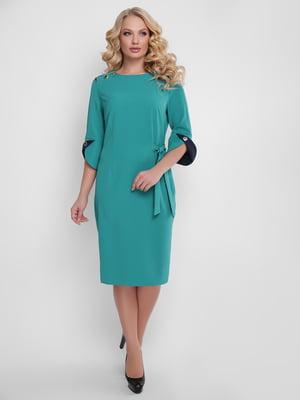 Платье бирюзовое | 5128949
