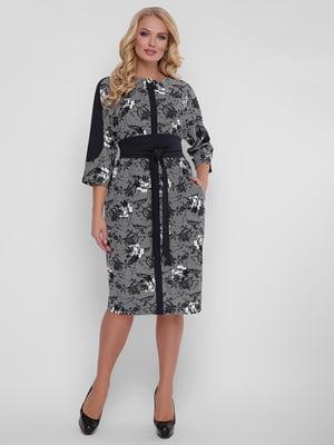 Сукня чорно-сіра | 5152925