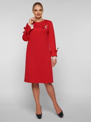 Платье красное   5224211