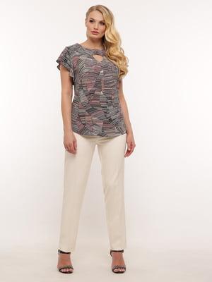 Блуза с принтом | 5419761