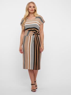 Сукня в розмитий принт | 5460177