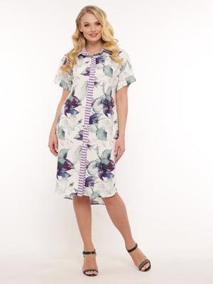 Платье в цветочный принт | 5460196