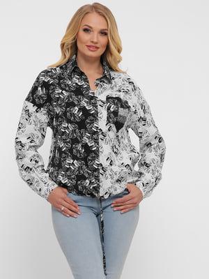 Рубашка в принт   5483527