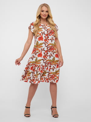 Сукня у квітковий принт | 5483537