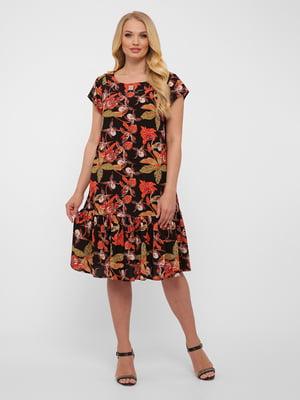 Сукня у квітковий принт | 5483538