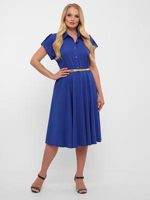 Платье синее | 5533665