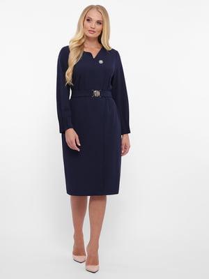 Платье синее | 5592157