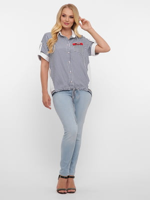 Блуза у смужку | 5621737