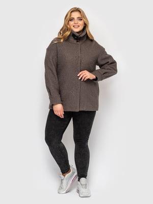 Куртка темно-коричневая | 5621754