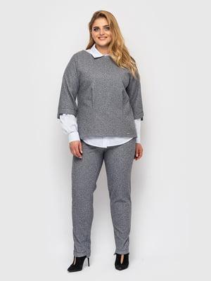 Костюм: блуза и брюки | 5621757