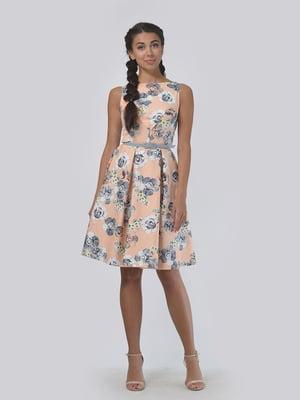 Платье в цветочный принт | 5621015