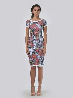 Платье в цветочный принт   5621494
