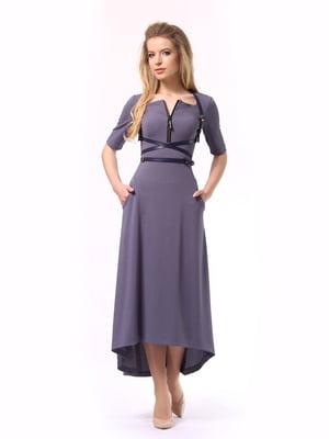 Сукня графітового кольору | 5620724