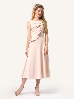Сукня кольору пудри | 5620730