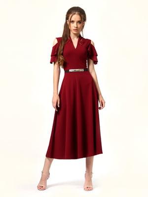 Сукня бордова | 5620732