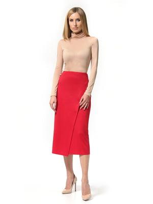 Спідниця червоного кольору | 5621206