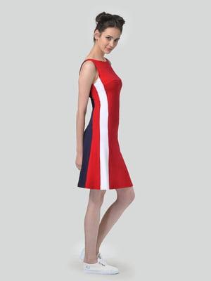 Сукня триколірна в смужку | 5621282
