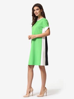 Сукня триколірна в смужку | 5621372