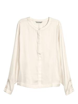 Блуза молочного кольору | 5622035