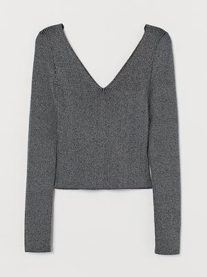 Пуловер серый | 5622328