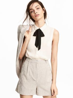 Блуза молочного кольору | 5622399