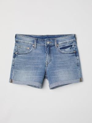 Шорти блакитні джинсові | 5622560