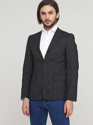 Пиджак темно-серый | 5622601