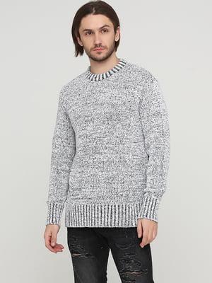 Джемпер черно-белый | 5622776