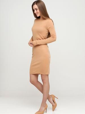 Платье бежевое | 5622809
