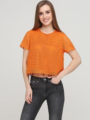 Блуза оранжевая   5622838