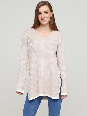 Пуловер бежевий | 5622903