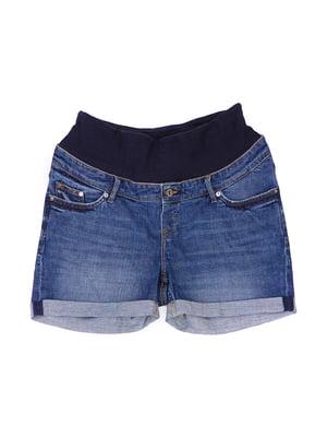Шорти сині джинсові для вагітних | 5622933
