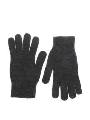 Перчатки темно-серые | 5623024