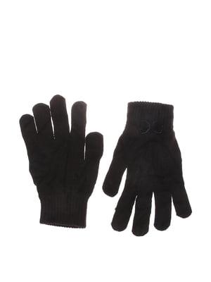 Рукавички чорні | 5623026