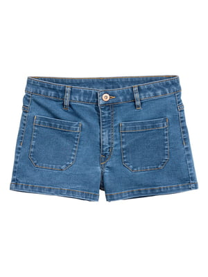 Шорты синие джинсовые   5623187