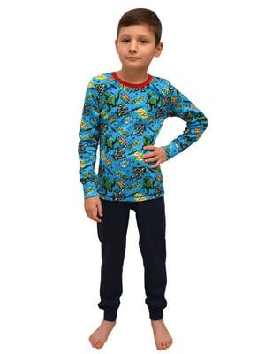Пижама: лонгслив и брюки   5623223