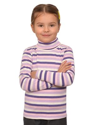 Гольф фиолетовый в полоску | 5623248