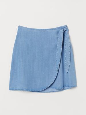 Спідниця блакитного кольору | 5623562