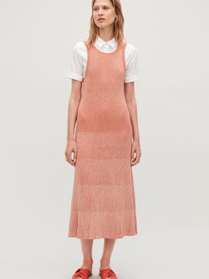 Платье кораллового цвета   5623758